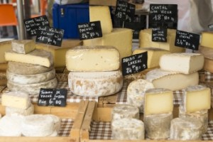 Aromatic Cheeses of France