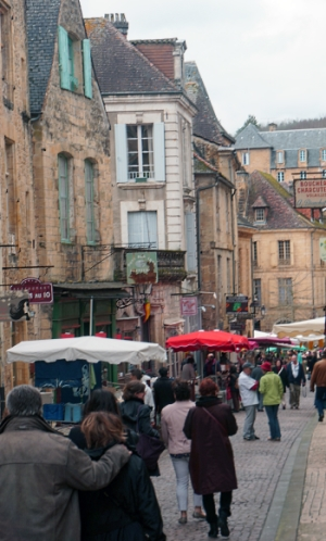 The Artistic and Historic Town of Sarlat, France