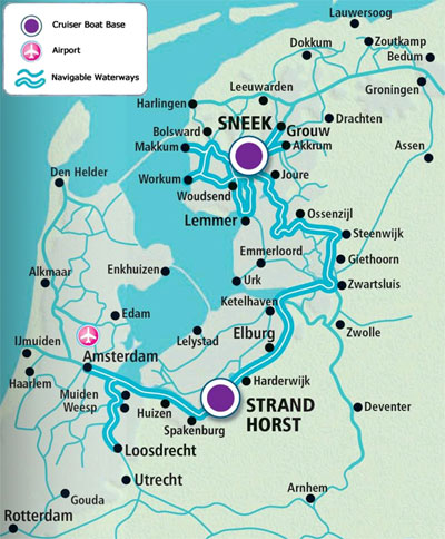 Holland_Map_for_Self_Drives